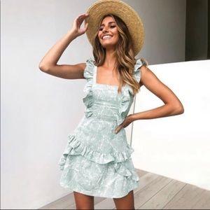 Dresses & Skirts - New trendy mosaic print dress.